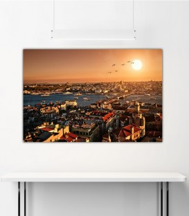 Karaköy-Eminönü Canvas Tablo