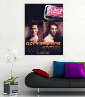 Fight Club ( Dövüş Klübü )  Poster Kanvas Tablo