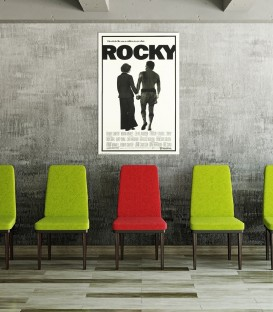 Rocky I Poster  Kanvas Tablo