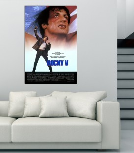Rocky V Poster  Kanvas Tablo