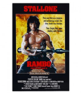 Rambo - Poster Kanvas Tablo
