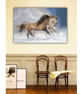Horses Canvas Tablo