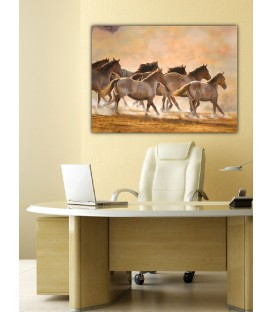 Wild Horses Canvas Tablo