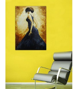 Stunning Dancer Canvas Tablosu