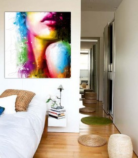 Color Art Canvas Tablo
