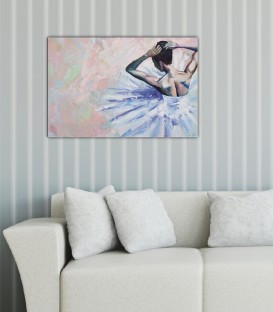 Ballerina Canvas Tablo II